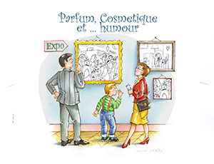 exhibition perfume-cosmetic-and-humour